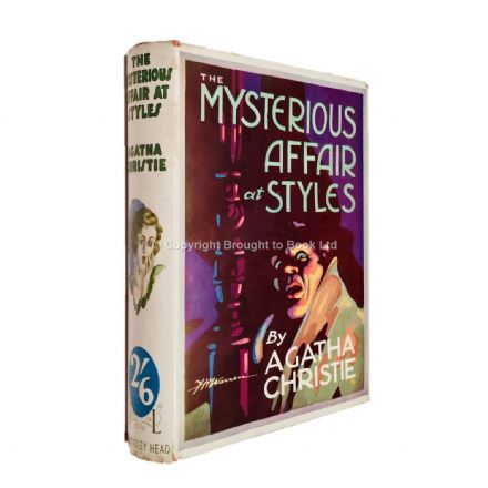The Mysterious Affair at Styles by Agatha Christie Half Crown Edition John Lane The Bodley Head Ltd